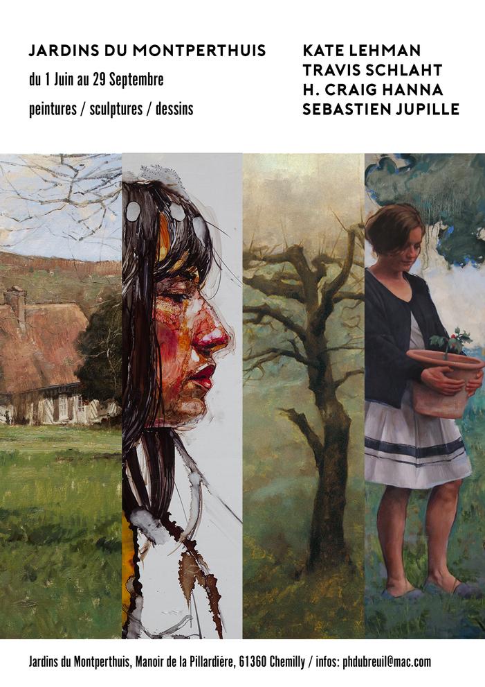 Journées du patrimoine 2019 - Exposition : Quatre artistes aux Jardins du Montperthuis