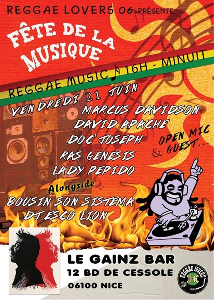 Fête de la musique 2019 - Reggae Music
