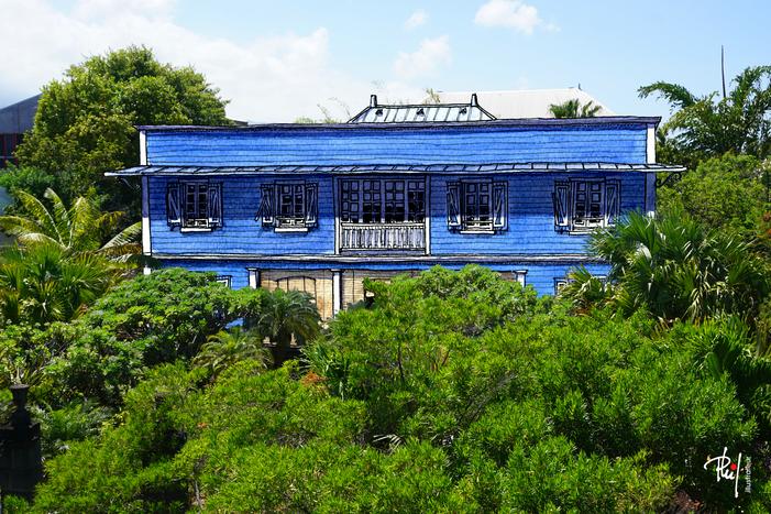 Journées du patrimoine 2019 - Le jardin de la maison Orré, inscrite au titre des monuments historiques depuis 1998
