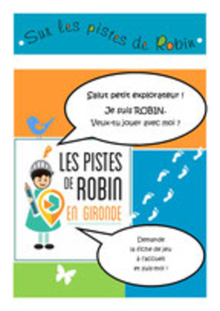 Journées du patrimoine 2019 - Jeu : les pistes de Robin en Gironde