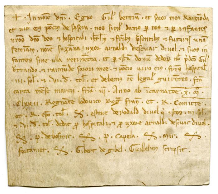 « Écritures anciennes », initiation à la paléographie