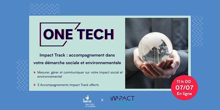 Impact Track : accompagnement dans votre démarche sociale et environnementale