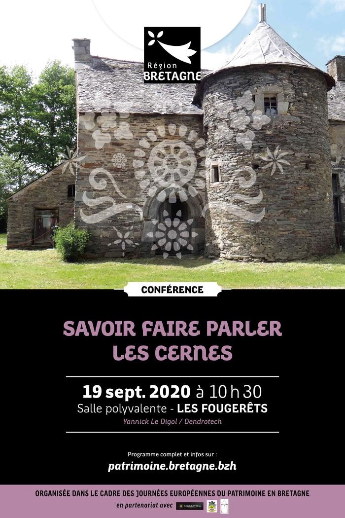 Journées du patrimoine 2020 - Conférence : Savoir faire parler les cernes