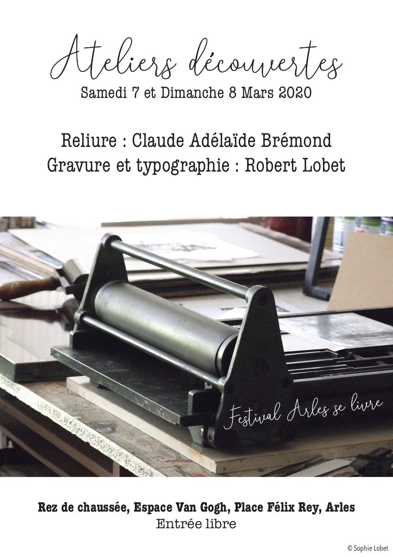 Dans le cadre du festival Arles se livre : initiation aux techniques de création d'un livre d'artiste