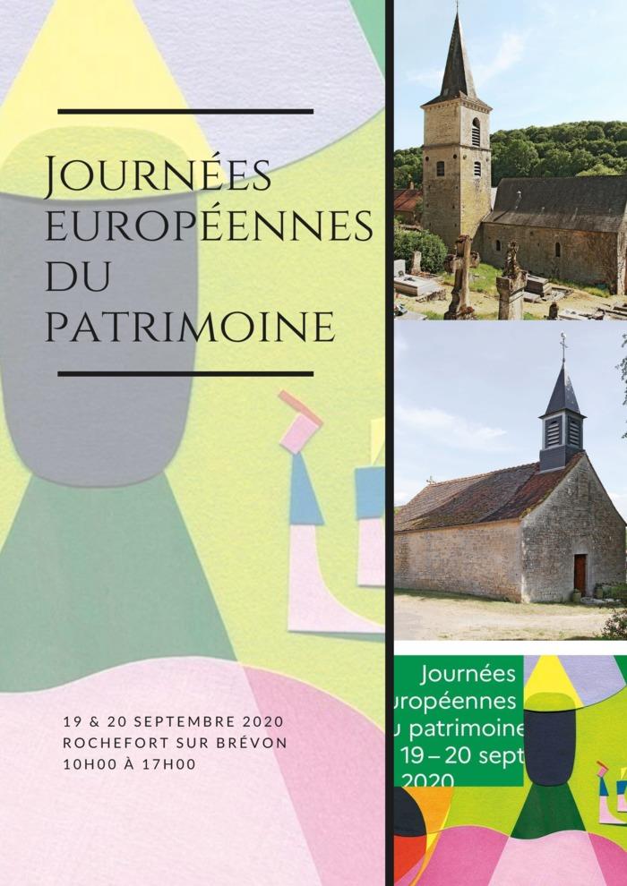Journées du patrimoine 2020 - Visite des différents monuments de Rochefort-sur-Brévon