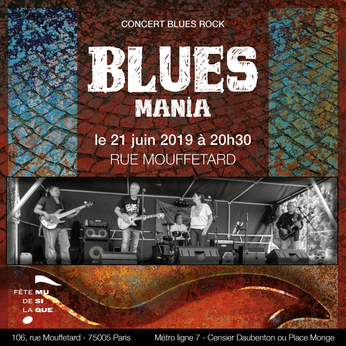 Fête de la musique 2019 - Bluesmania