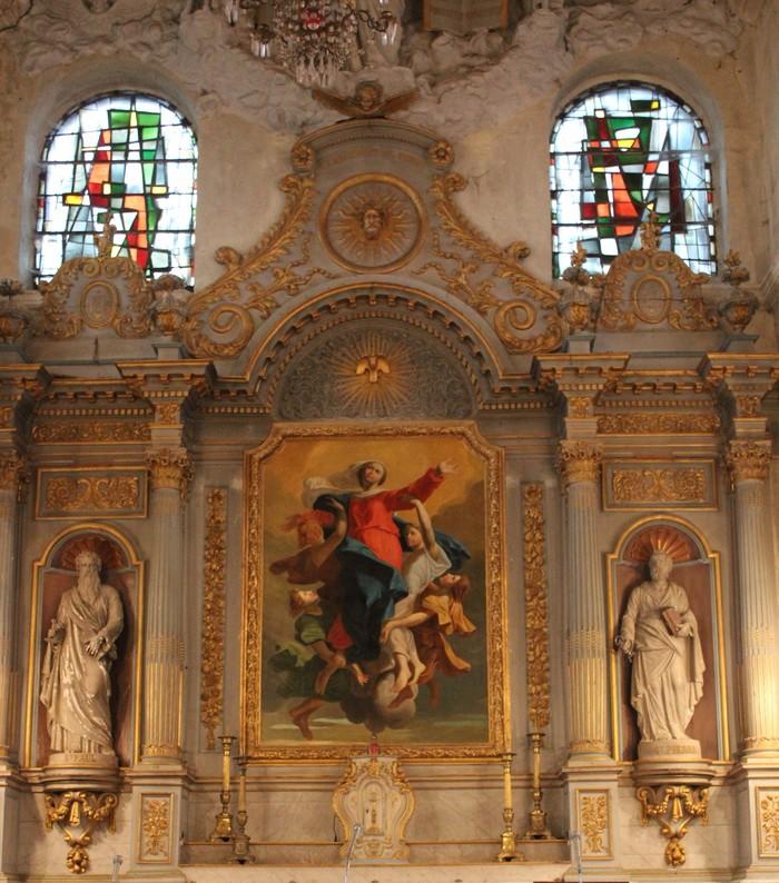 Journées du patrimoine 2020 - Conférence sur le retable classé du XVIIe s. de l'église Notre-Dame de Courson