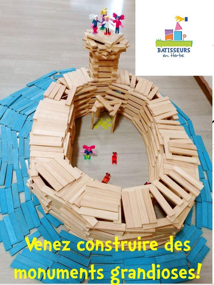 Journées du patrimoine 2020 - Atelier de construction pour enfants
