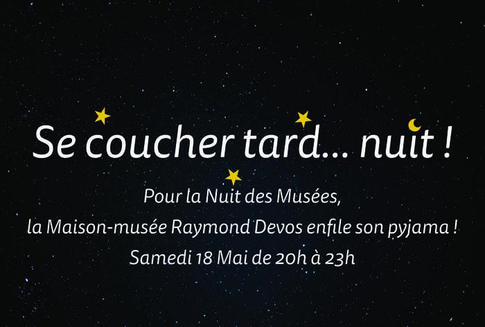 Nuit des musées 2019 -Se coucher tard... nuit !