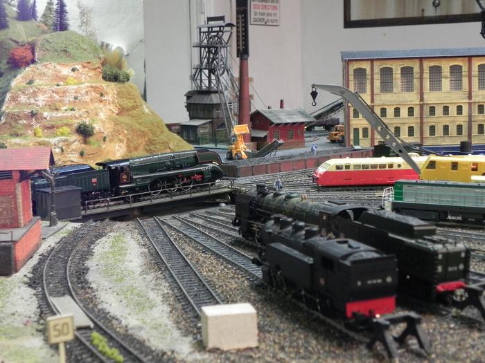 Journées du patrimoine 2020 - Maquettes ferroviaires en fonctionnement, histoire du chemin de fer