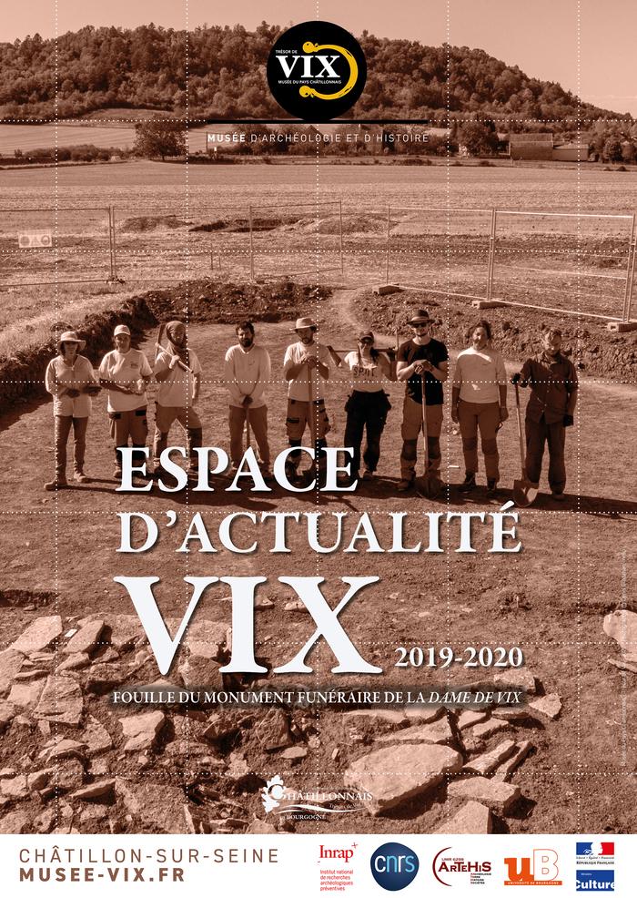 Journées du patrimoine 2020 - Fouille du monument funéraire de la Dame de Vix