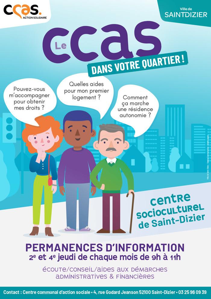 CCAS : permanence d'information