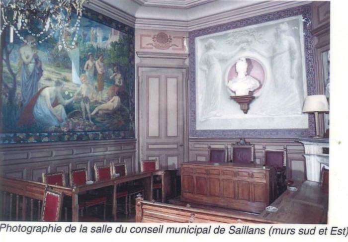 Journées du patrimoine 2019 - Visite guidée du village et de la salle classée du conseil municipal