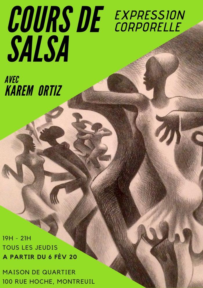 Cours de Salsa et Expression corporelle