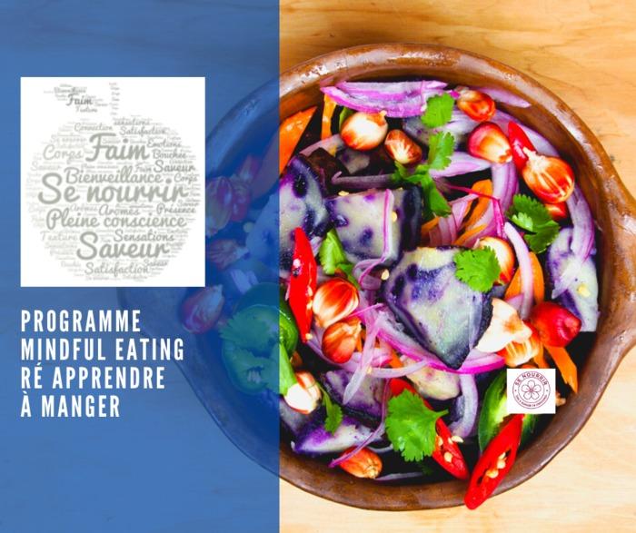 Programme Mindful Eating / Ré apprendre à manger