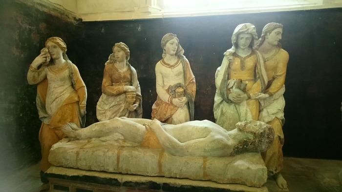 Journées du patrimoine 2019 - Visite de l'église de Ceffonds et la mise au tombeau