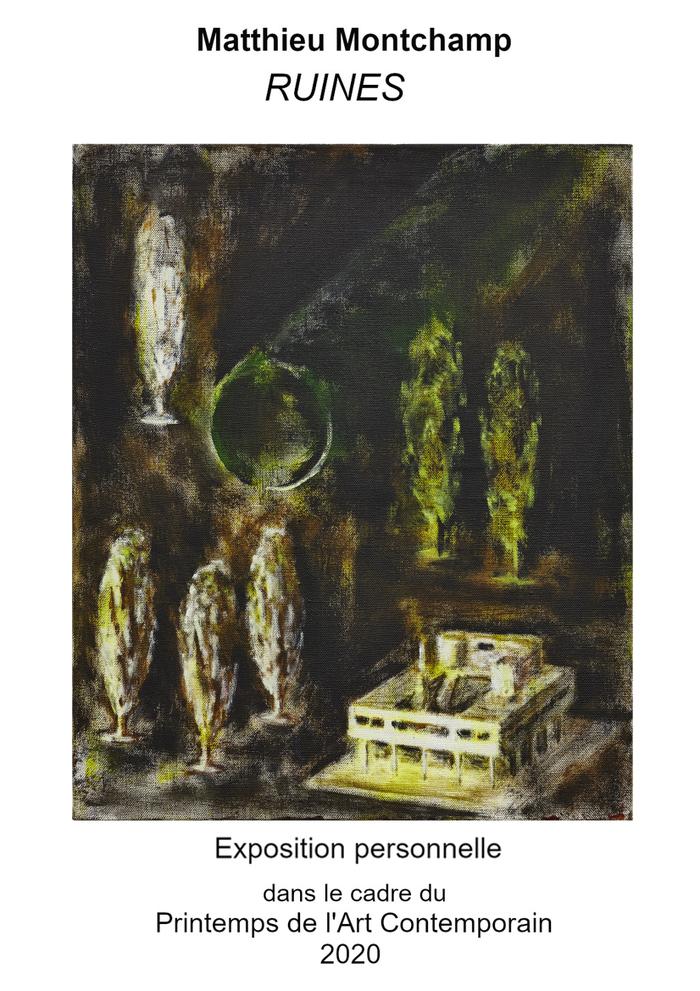 Journées du patrimoine 2020 - Annulé   Ruines - Exposition peinture