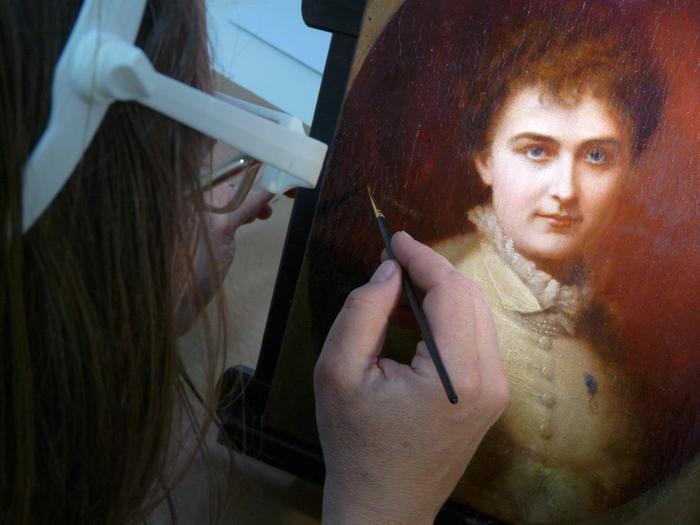 Journées du patrimoine 2020 - METIERS D'ART / Atelier DU CHAMP DE MARS, Marie-Anne Boursier - Restauratrice de tableaux à Valence