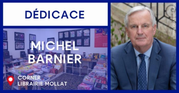 Dédicace de Michel Barnier