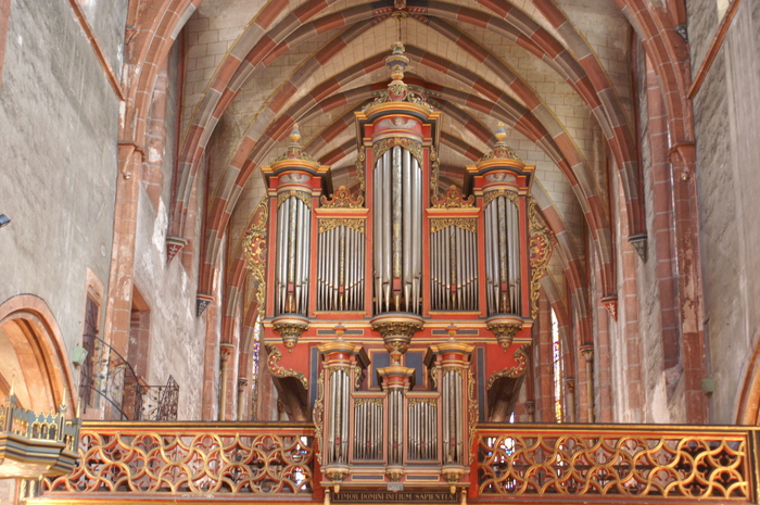 Journées du patrimoine 2020 - Présentation de l'orgue Silbermann