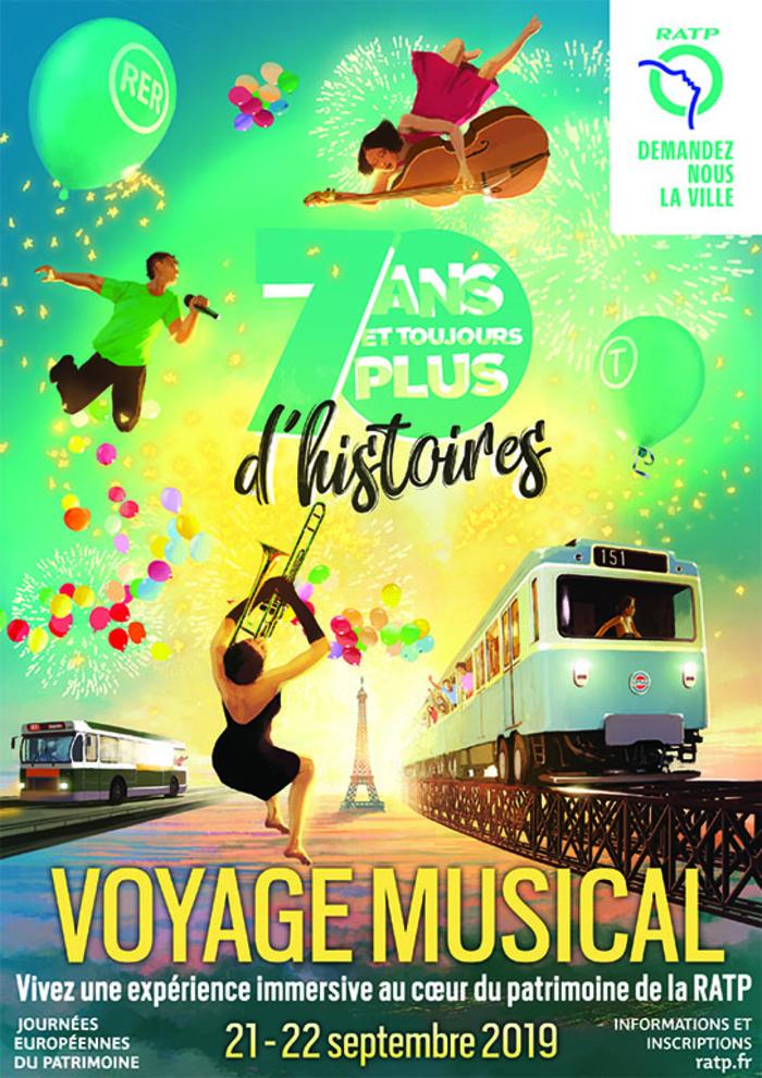 Journées du patrimoine 2019 - Voyage musical au cœur de la RATP
