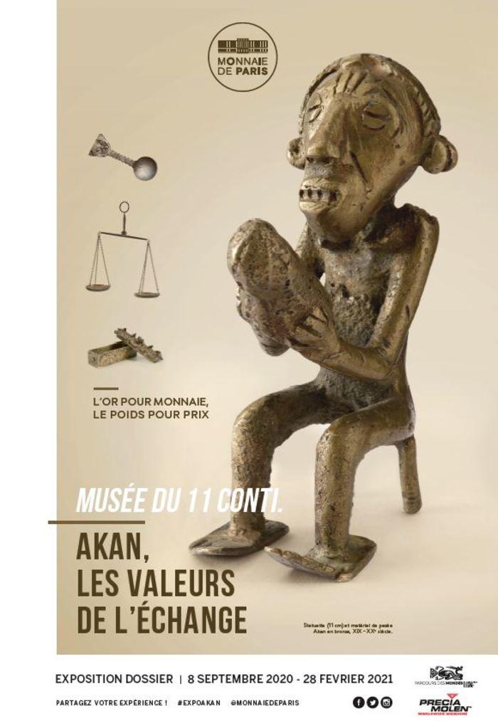 Journées du patrimoine 2020 - Visite libre de l'exposition « Akan, les valeurs de l'échange »