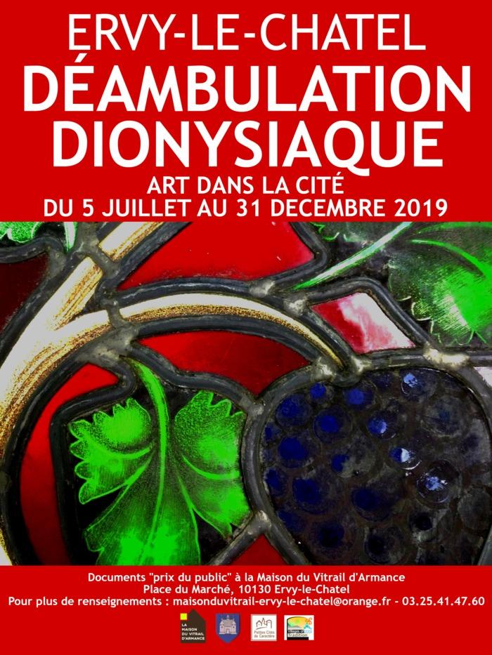 Journées du patrimoine 2019 - Visite libre de la Maison du Vitrail d'Armance et de ses expositions