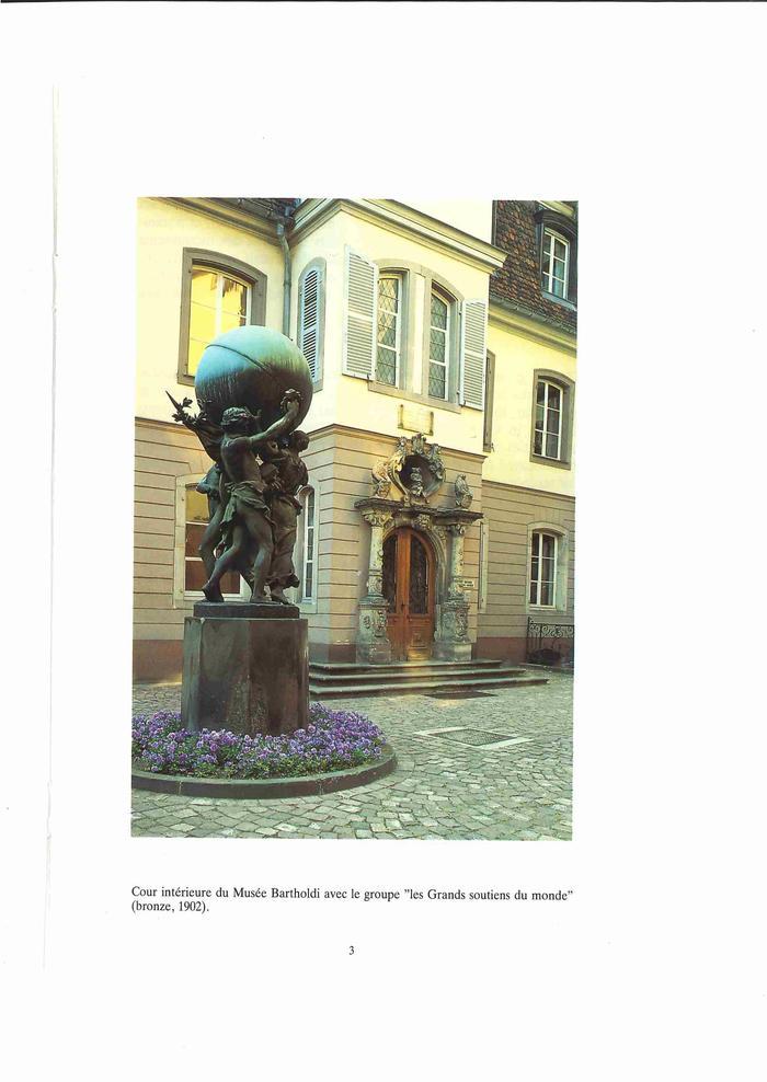 Journées du patrimoine 2019 - Visite libre du musée Bartholdi