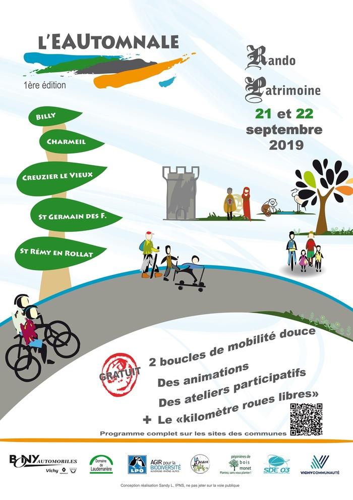 Journées du patrimoine 2019 - L'EAUtomnale