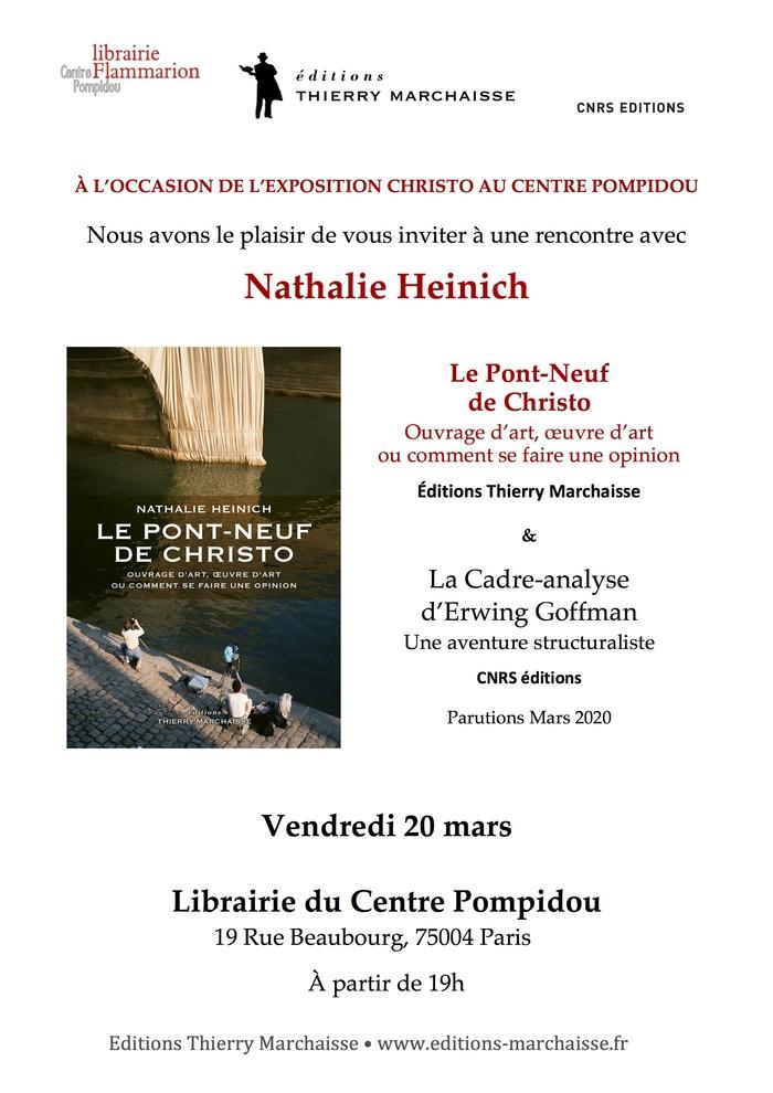 À l'occasion de l'exposition Christo au Centre Pompidou