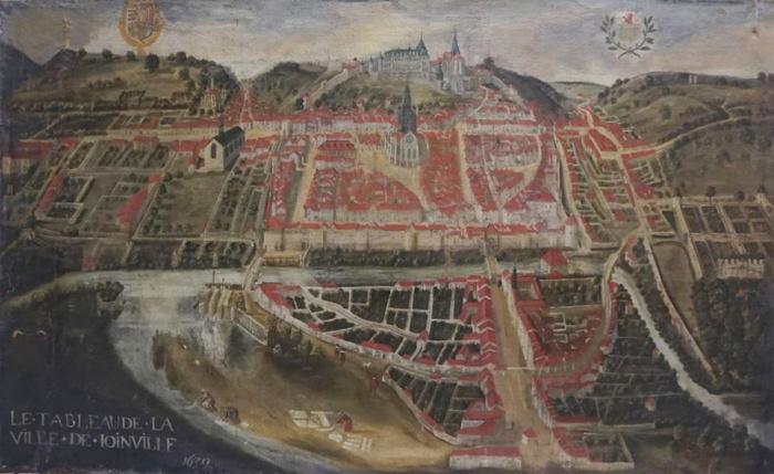 Journées du patrimoine 2020 - Conférence par Igor Kozak, restaurateur d'art : Le Tableau de la Ville de Joinville en 1639