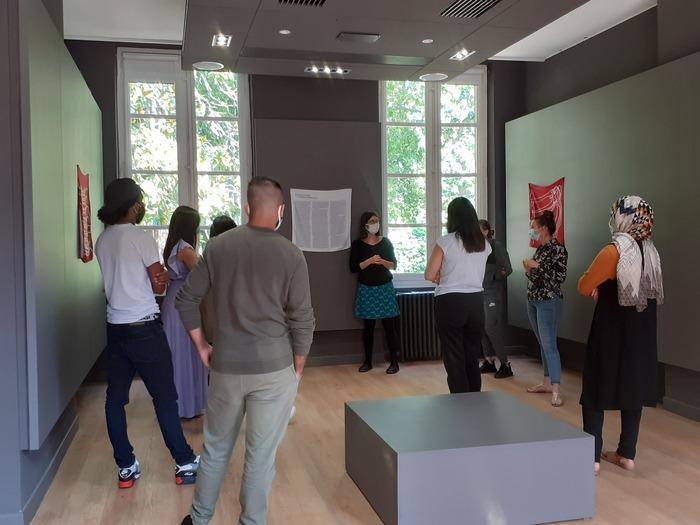 Visite commentée de l'exposition en compagnie d'une médiatrice du centre d'art