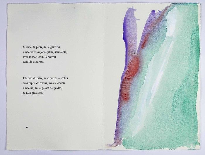 La poésie de Pierre Dhainaut à travers les livres d'artiste