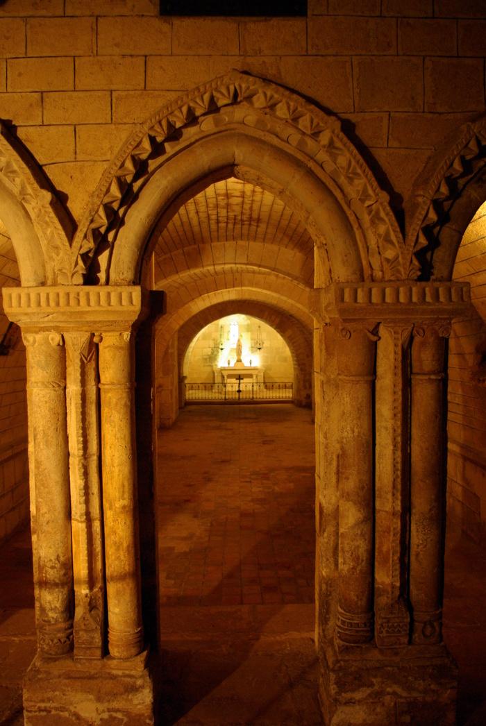 Journées du patrimoine 2019 - Découvrez la plus grande crypte de Charente !