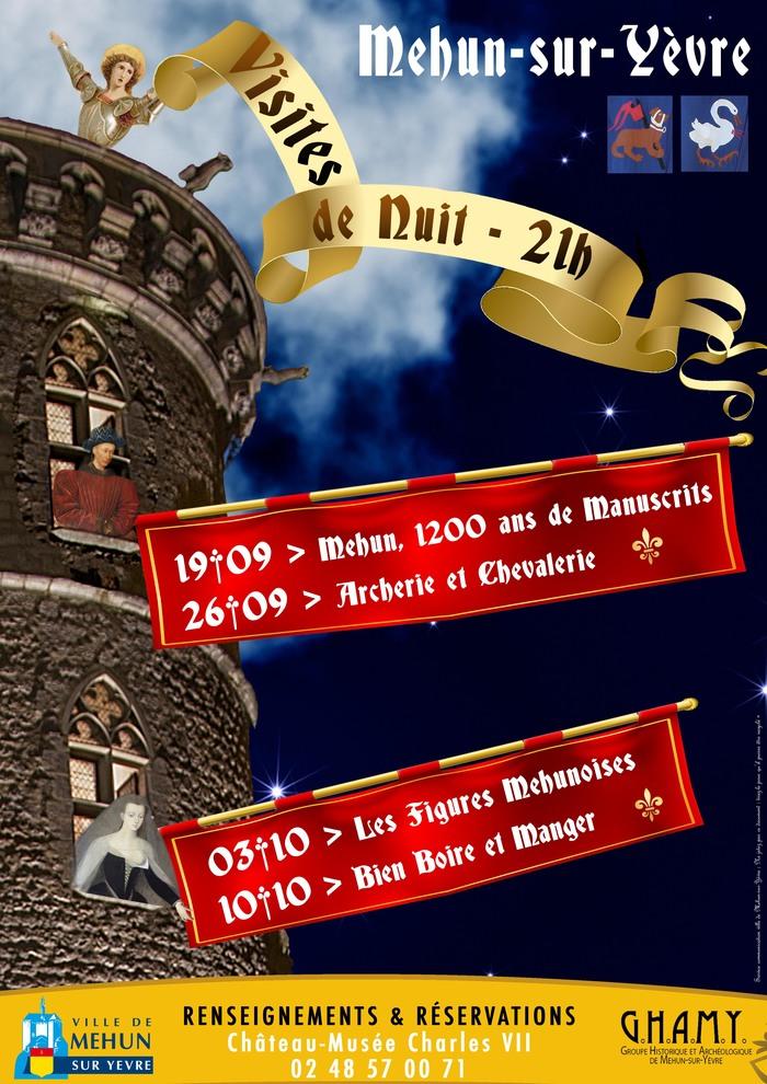 Journées du patrimoine 2020 - Visite guidée de nuit :