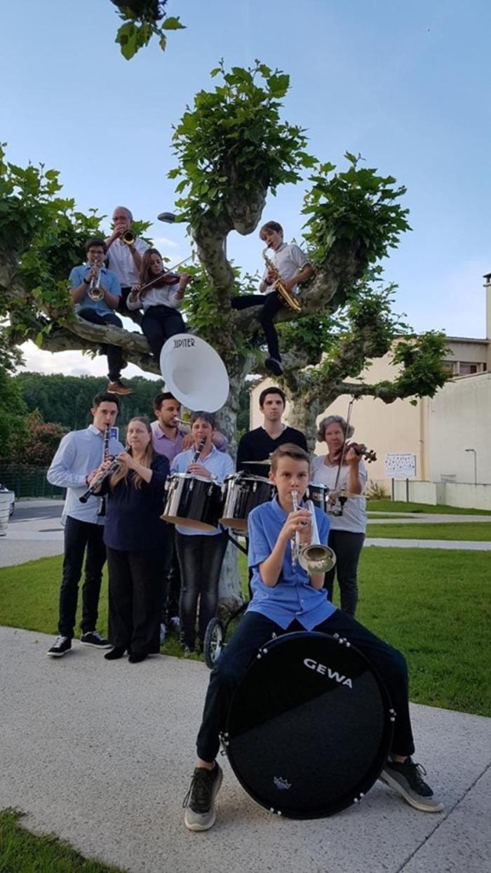 Fête de la musique 2019 - Ecole de musique et son harmonie accompagnées de la chorale de Verneuil-sur-Vienne