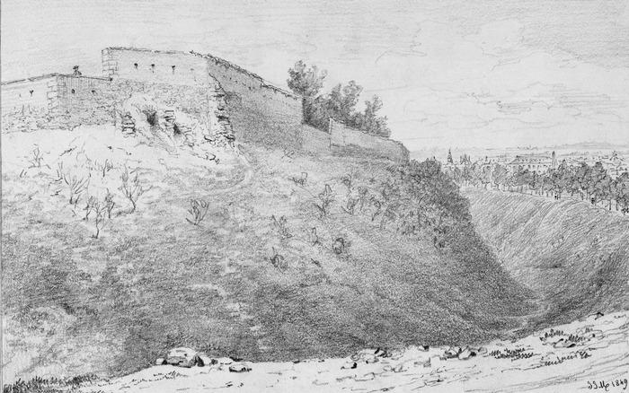 Journées du patrimoine 2020 - Exposition de dessins en relief des anciens remparts