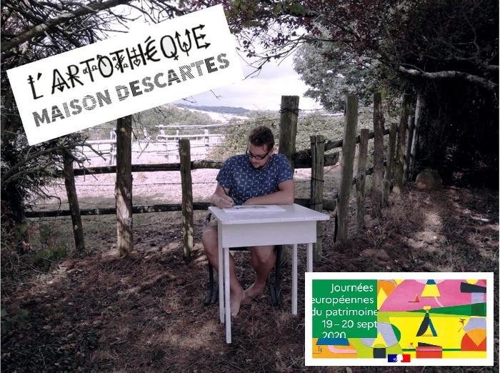 Journées du patrimoine 2020 - Artothèque / Maison Descartes