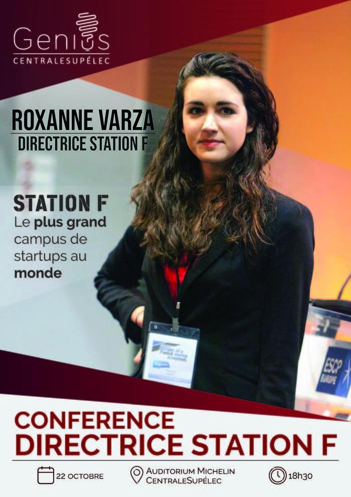 Roxanne Varza à CentraleSupélec