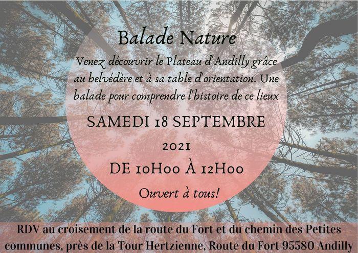 Balade au fil du Plateau d'Andilly