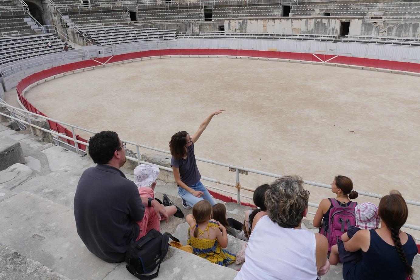 Visites guidées flash : 30 min de visite guidée pour connaître les monuments d'Arles