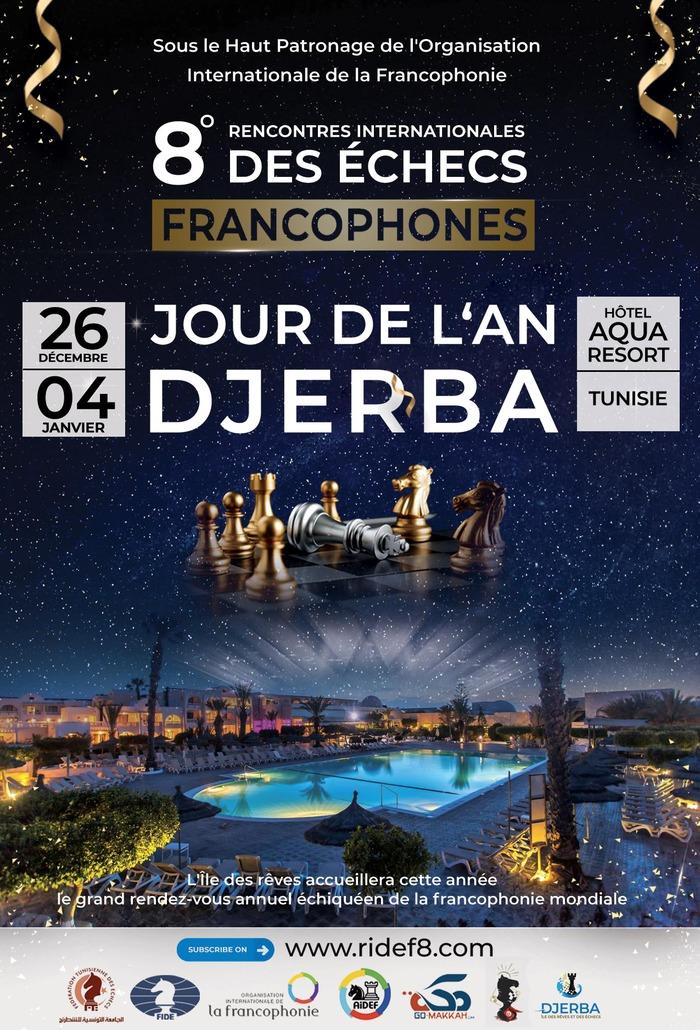 """Tous les joueurs d'échecs francophones du monde entier se retrouvent annuellement lors des """"RIDEF"""" afin de participer aux championnats de la Francophonie et aux différentes activités organisées."""
