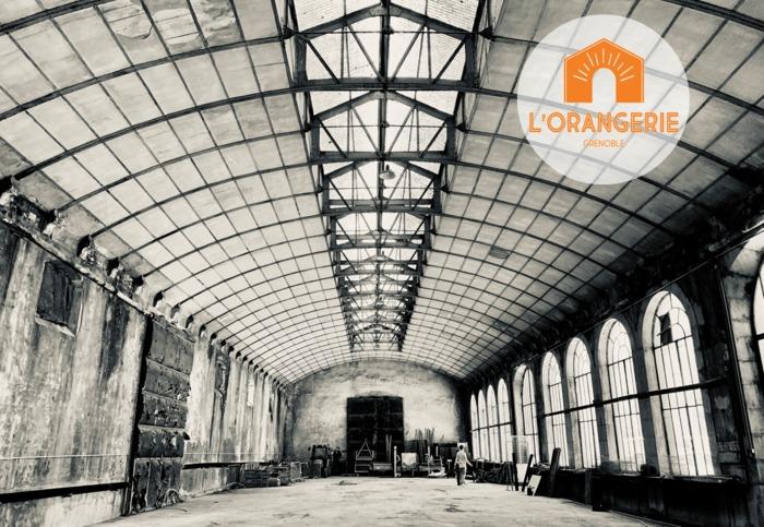 Journées du patrimoine 2020 - Projet de transformation de l'Orangerie de Grenoble par La Grande Saison
