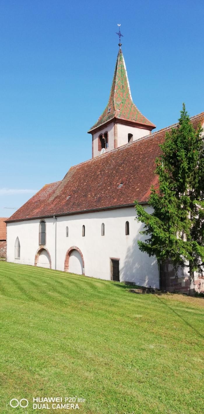 Journées du patrimoine 2019 - Eglise romane et cimetière fortifié