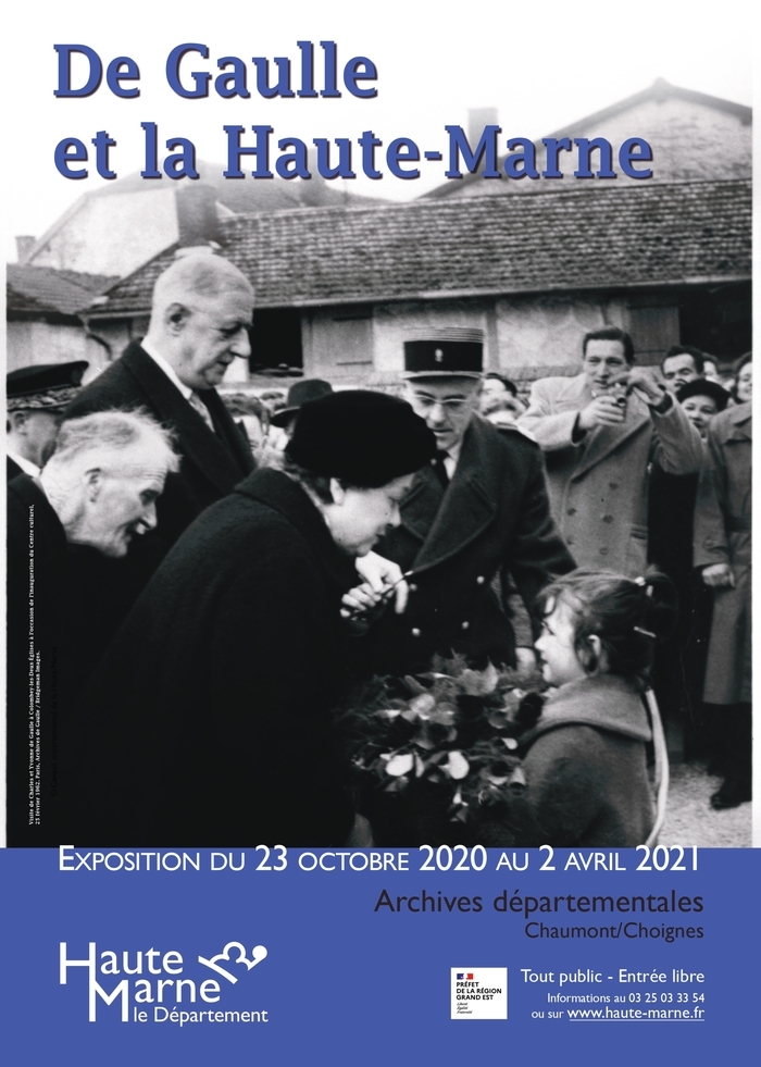 Exposition : De Gaulle et la Haute-Marne [fermée temporairement]