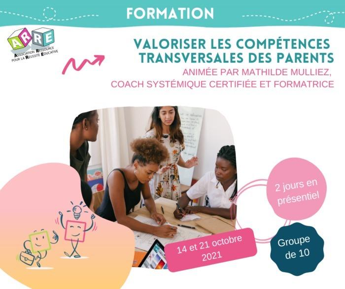 Valoriser les compétences transversales des parents