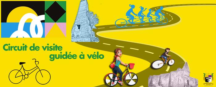 Journées du patrimoine 2019 - Circuit de visite guidée à vélo organisé par l'association PASREL