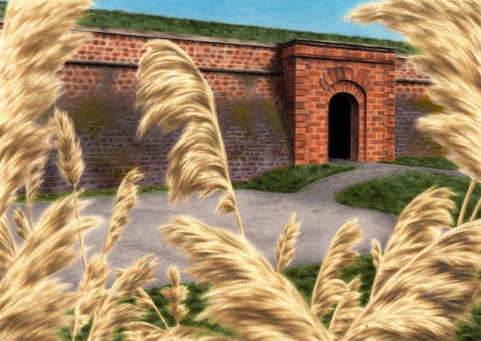 Journées du patrimoine 2020 - Exposition — Au Jardin, illustrations de Paul Lannes
