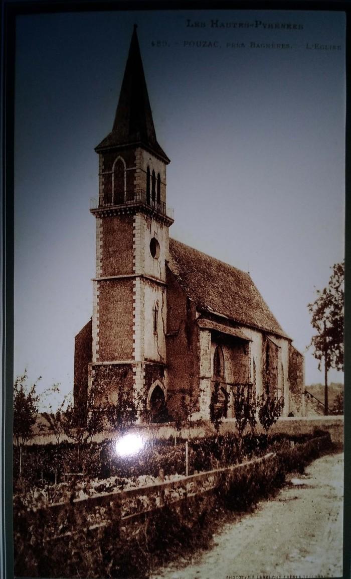 Journées du patrimoine 2019 - Visite guidée de l'église de Pouzac