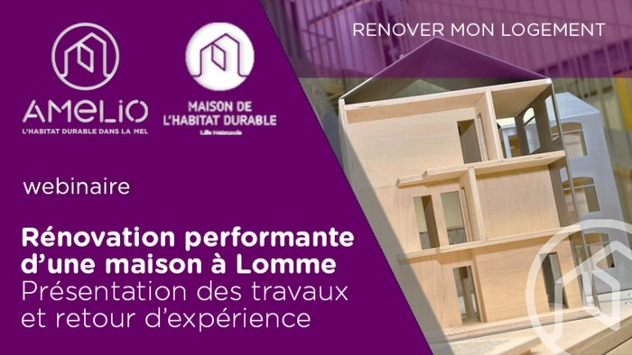 Rénovation d'une maison performante à Lomme